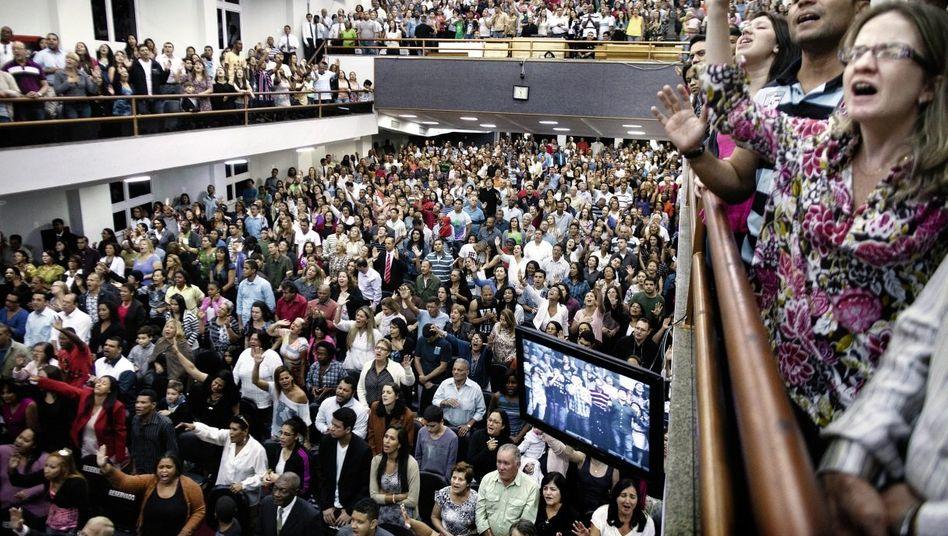 Evangelikaler Gottesdienst in Rio de Janeiro