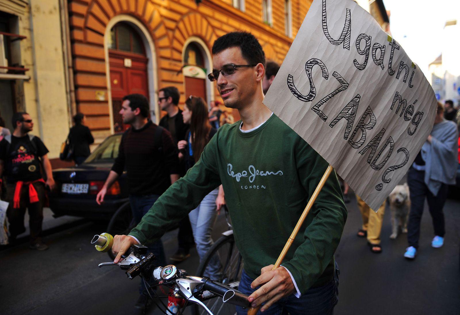 Ungarn / Pressefreiheit / Proteste