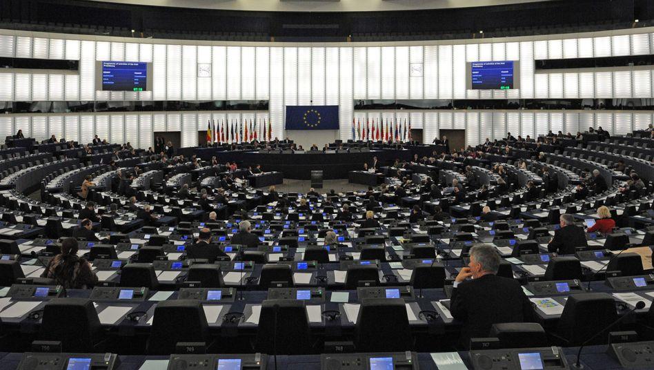 EU-Parlament in Straßburg: Gesetzesverabschiedung noch vor der Bundestagswahl
