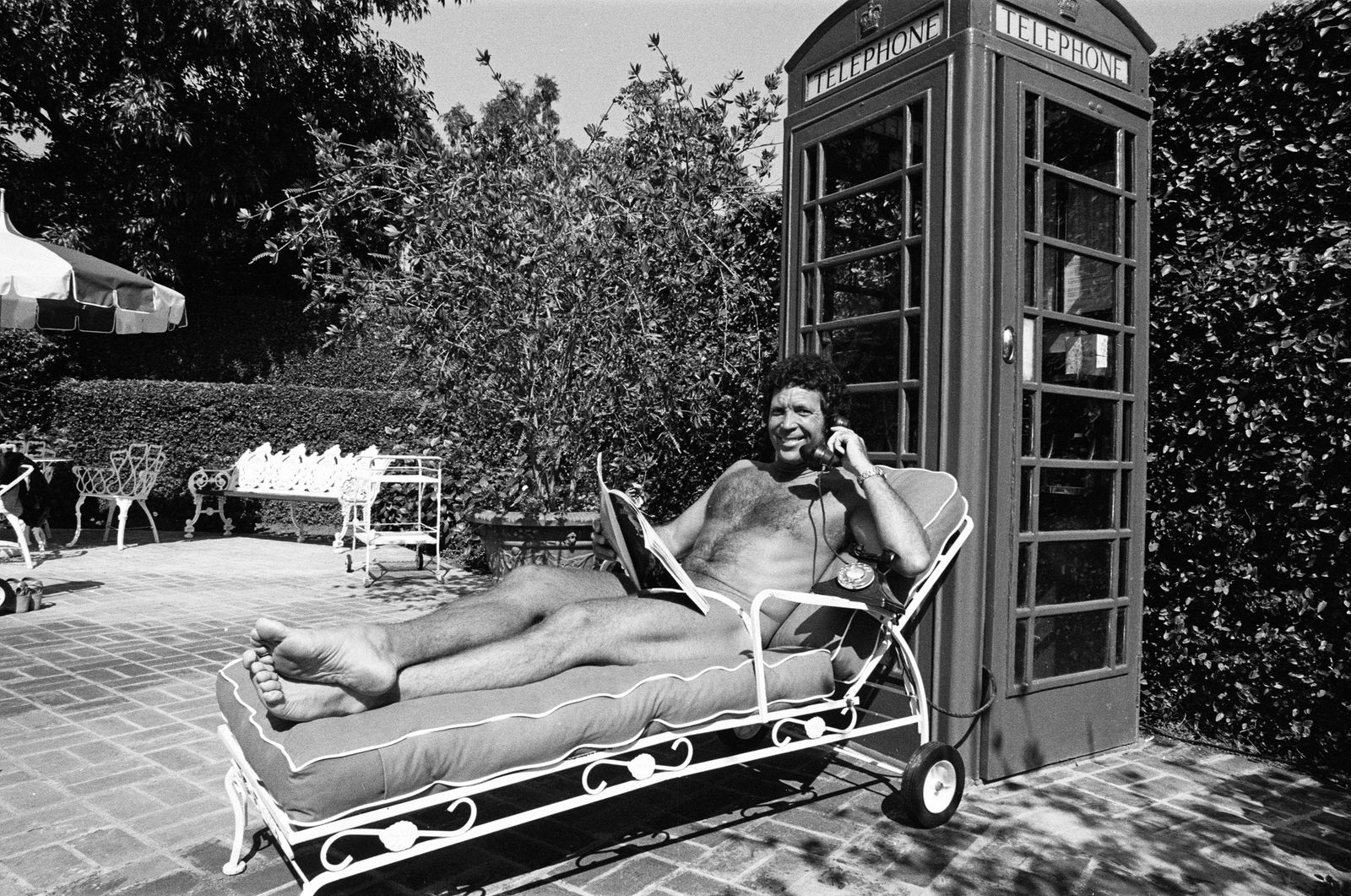 Tom Jones at Home