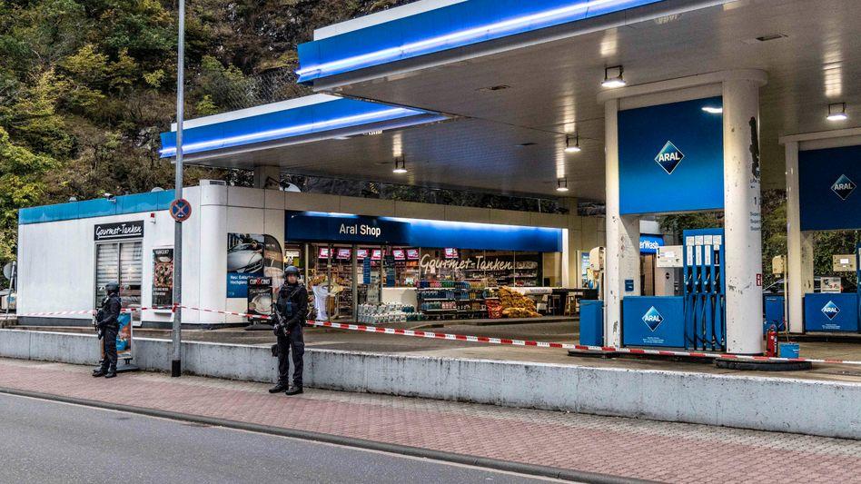 Tatort Tankstelle: Hier erschoss Mario N. am 18. September den Studenten Alexander W.