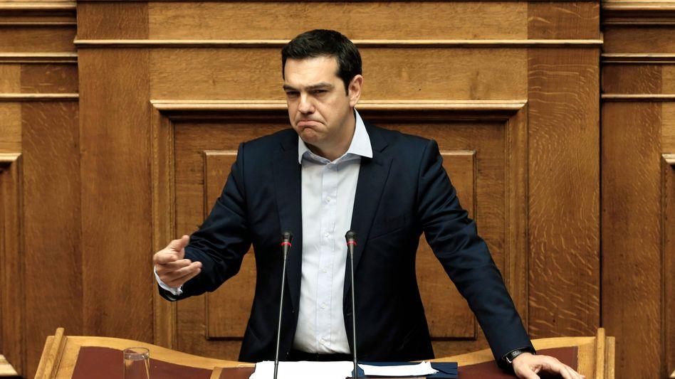 Regierungschef Tsipras: Kein Geld für den Internationalen Währungsfonds