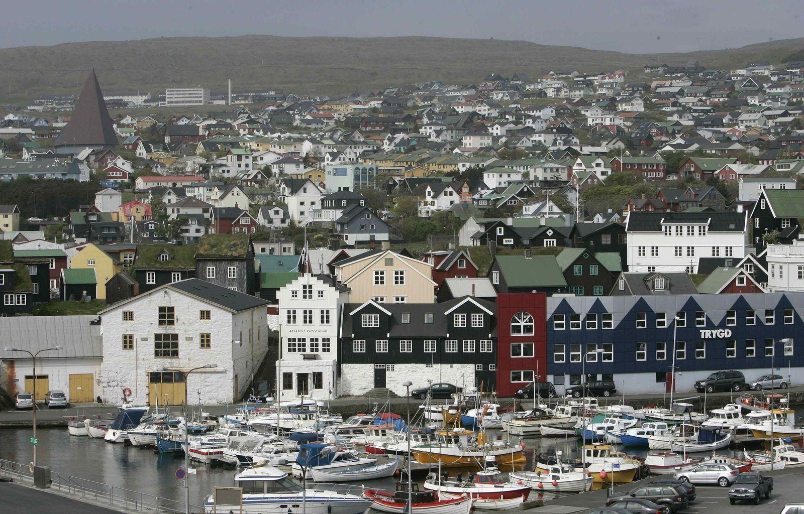 Färöer-Inseln Torshavn