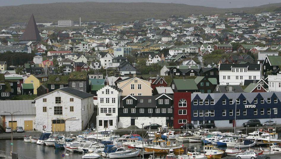 Torshavn auf den Färöern: Die Grindwal-Jagdsaison hat hier begonnen