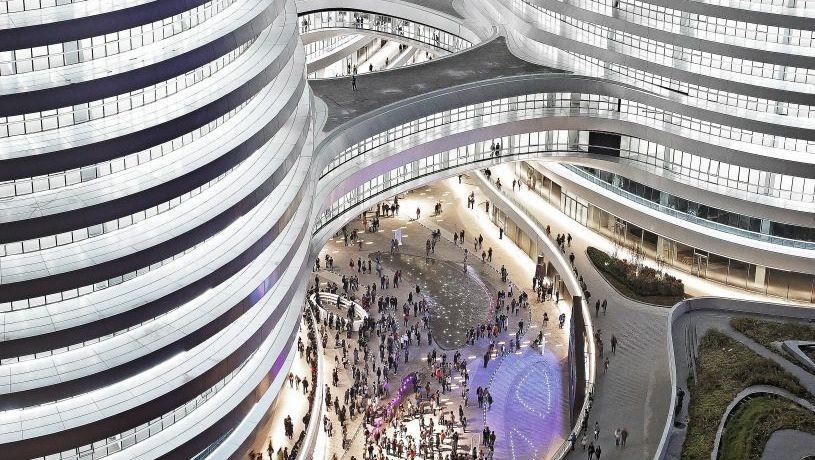 Bürokomplex Galaxy Soho in Peking: »Vor 20 Jahren nur Betonschachteln«