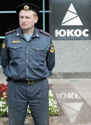 """Jukos-Zentrale in Moskau: """"Jemand will die Spannungen schüren"""""""