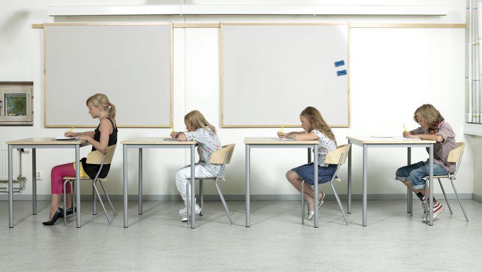 Klassenzimmer in Schweden