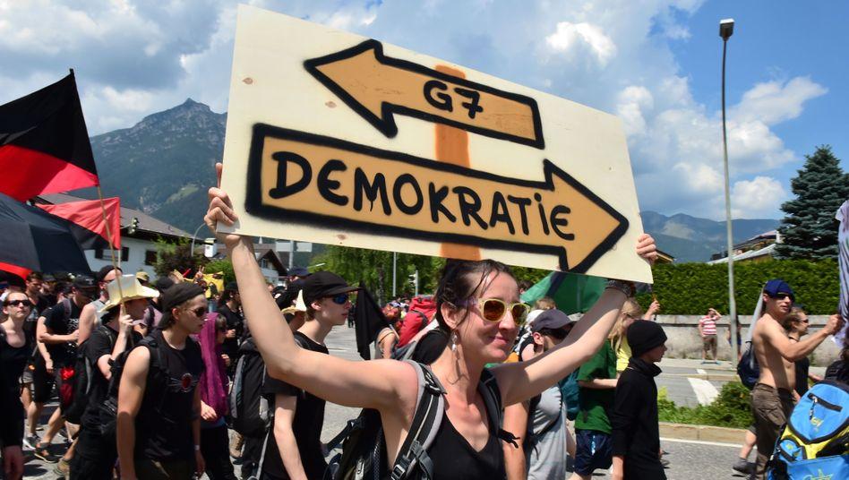 Anti-G7-Proteste in Elmau: Paradigma der vergangenen Jahrzehnte überdenken