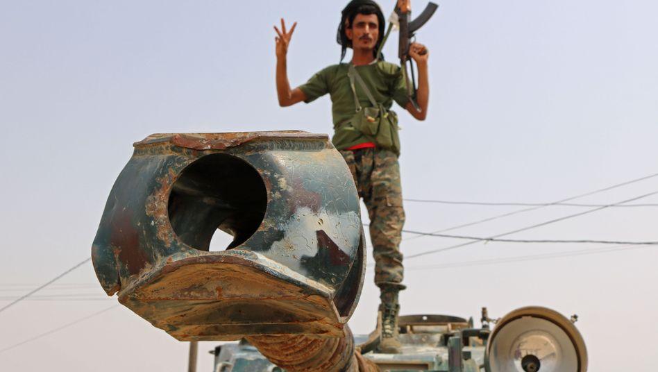 Von den Emiraten trainierter Milizionär im Jemen: Bundesregierung drückt sich um klare Haltung