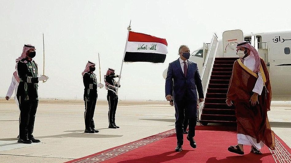 Iraks Premier zu Besuch beim saudischen Kronprinzen