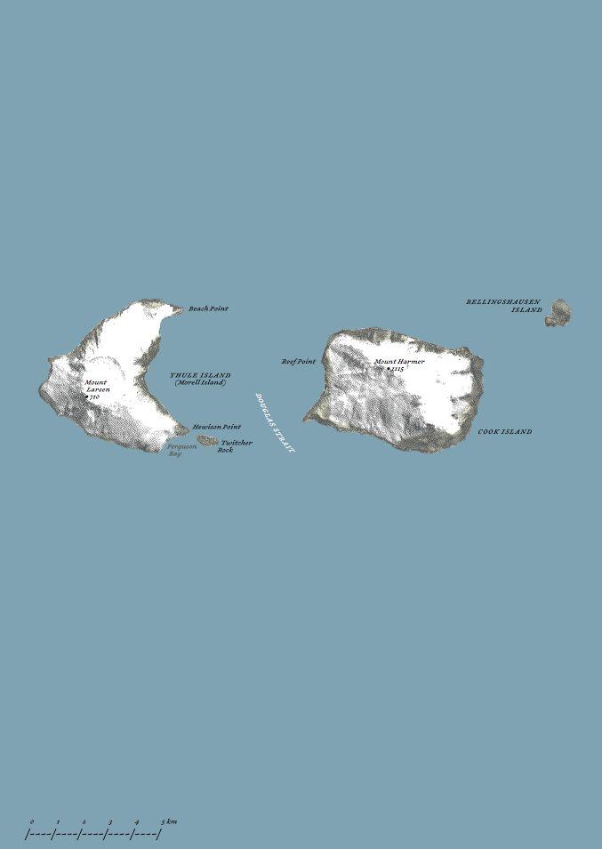 Süd-Thule: Eine Tagesreise vom geronnenen Meer entfernt