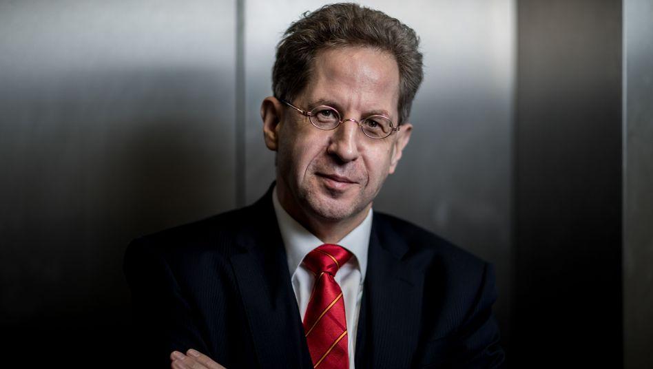 CDU-Mitglied und Ex-Inlandsgeheimdienstchef Maaßen