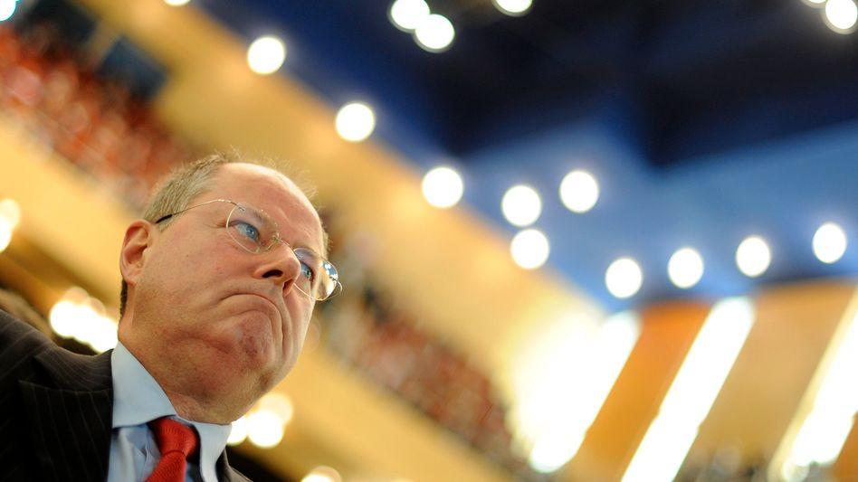 """Ex-Finanzminister Steinbrück: """"Gut investiertes deutsches Geld"""""""