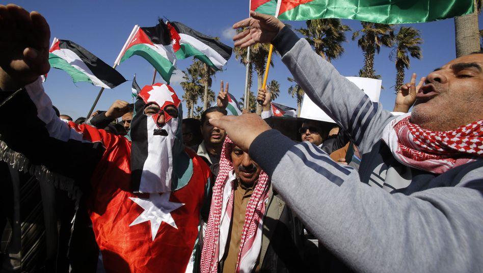 Jordanier warten auf ihren König: Sie fordern Vergeltung für ermordeten Piloten