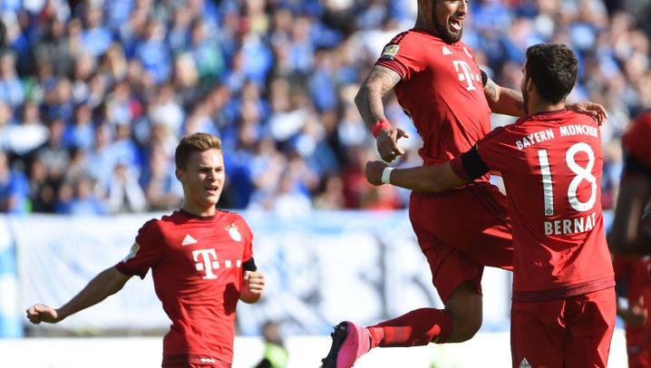 Fußballbundesliga: Gladbach verliert wieder, Bayern ohne Probleme in Darmstadt