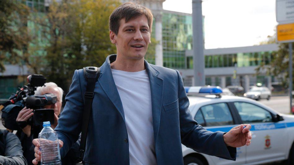 Dmitri Gudkow im Juli 2019