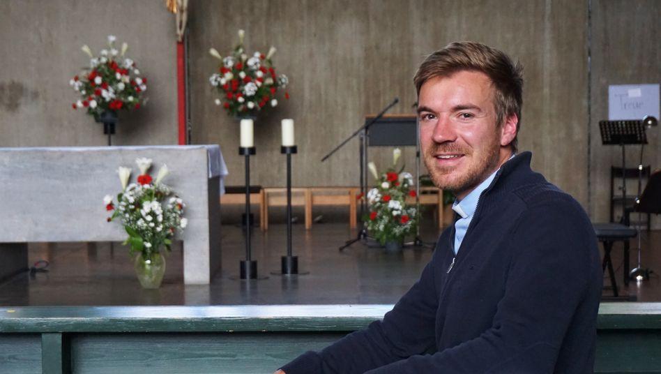 Priester Gregor Schweizer