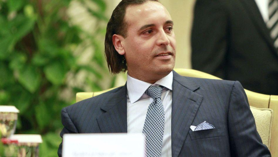 Hannibal al-Gaddafi (Archiv): War beim Verschwinden des Imams noch ein Kind