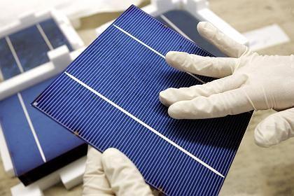 Solarzelle: Die Kosten tragen die Verbraucher.
