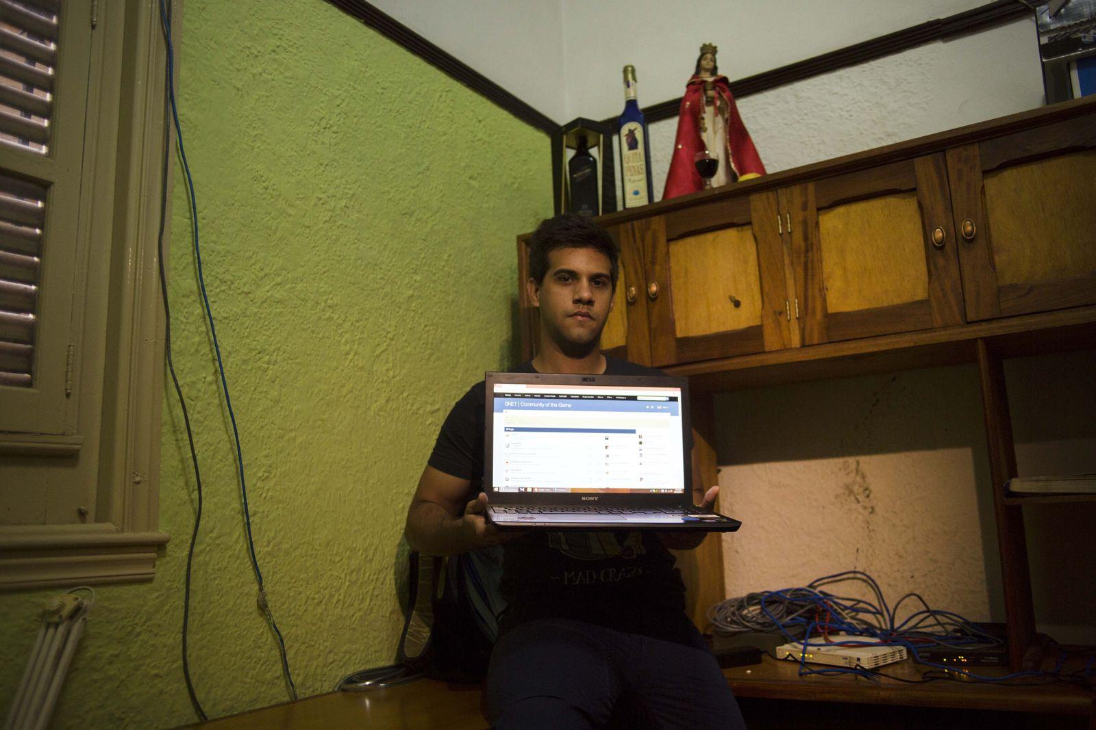 Cuba/ Computernetzwerk/ Rafael Antonio Broche Moreno