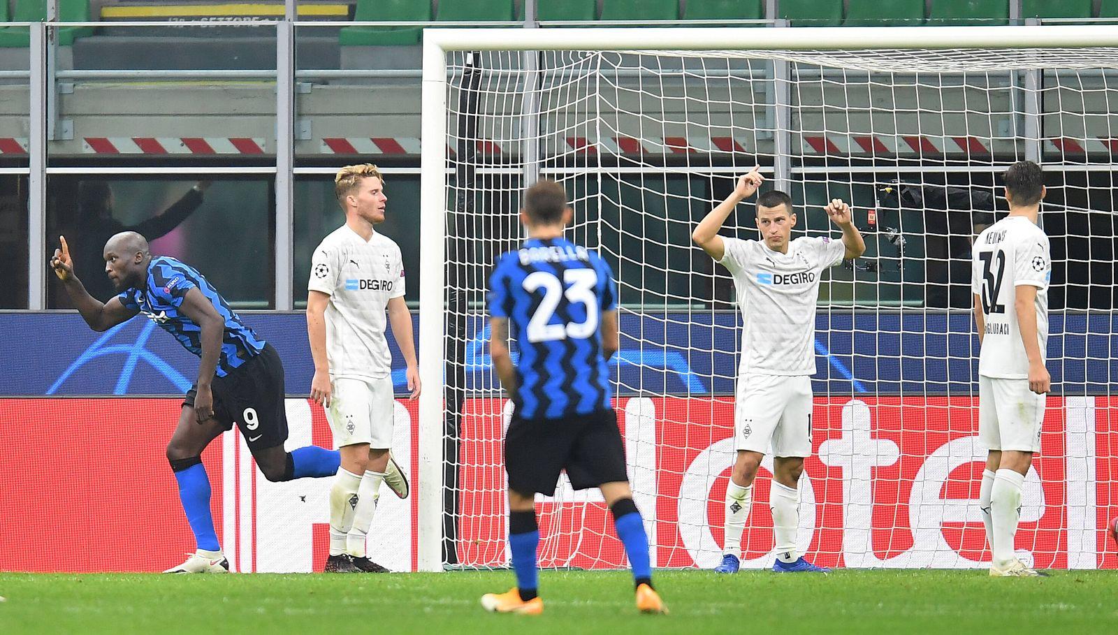 Borussia Monchengladbach 2 2 Vs Inter Mailand Soll Man Sich Daruber Jetzt Freuen Der Spiegel