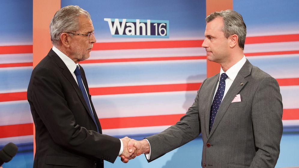 Österreich: Rechts gegen Links im Fernsehduell