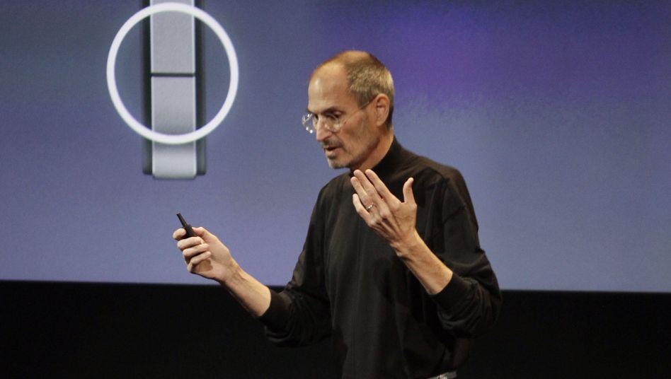 """Apple-Chef Steve Jobs bei Antennen-Konferenz: """"Vielleicht unser bestes Produkt"""""""