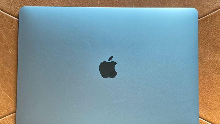 Das ist das Apple MacBook Air, Modelljahr 2020