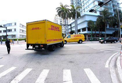"""DHL-Wagen in Miami: """"Anhaltende Milliardenverluste"""""""