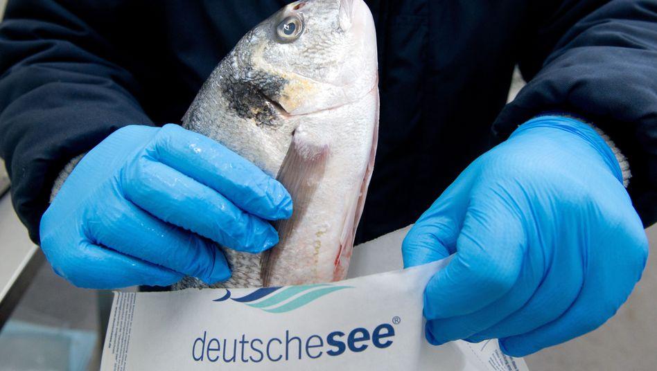 """Fisch vom Großhändler """"Deutsche See"""""""