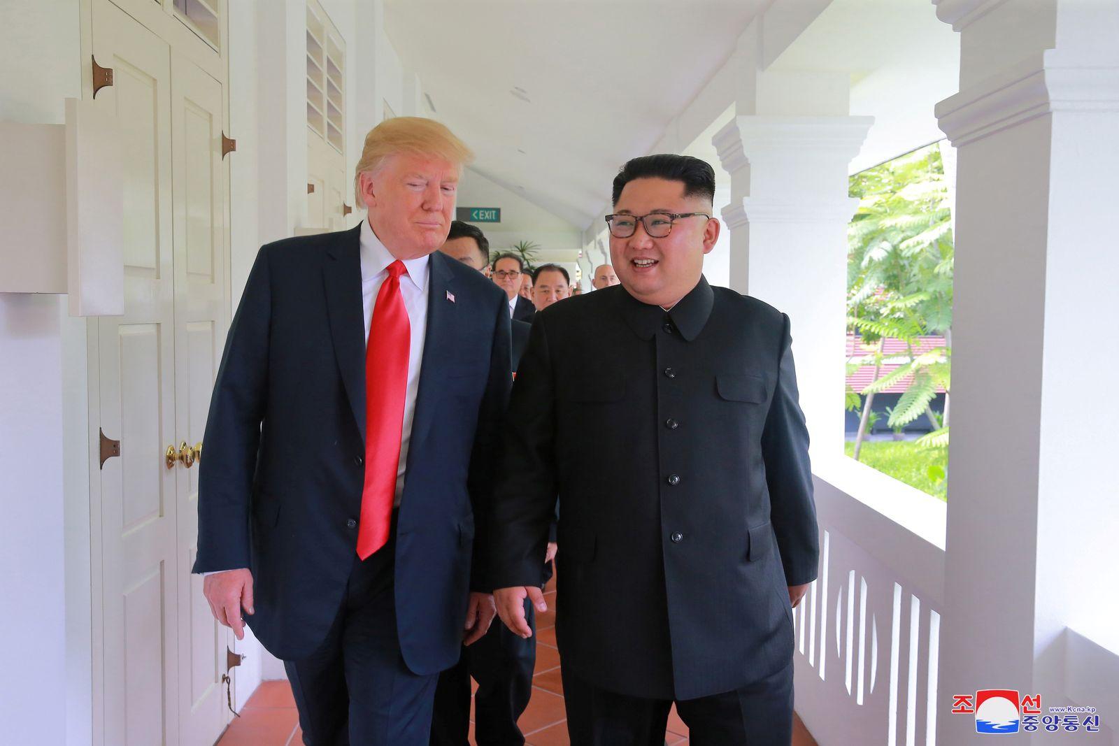 Kim Jong Un/ Donald Trump