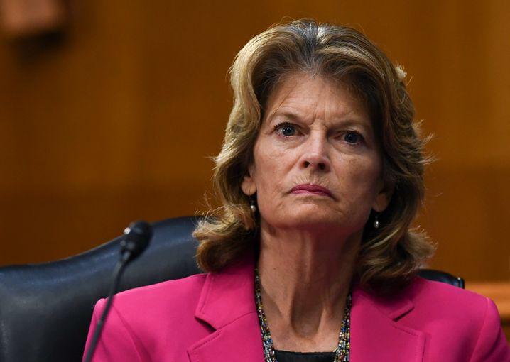Republikanische Senatorin Lisa Murkowski: Sie übt Kritik, der Präsident droht