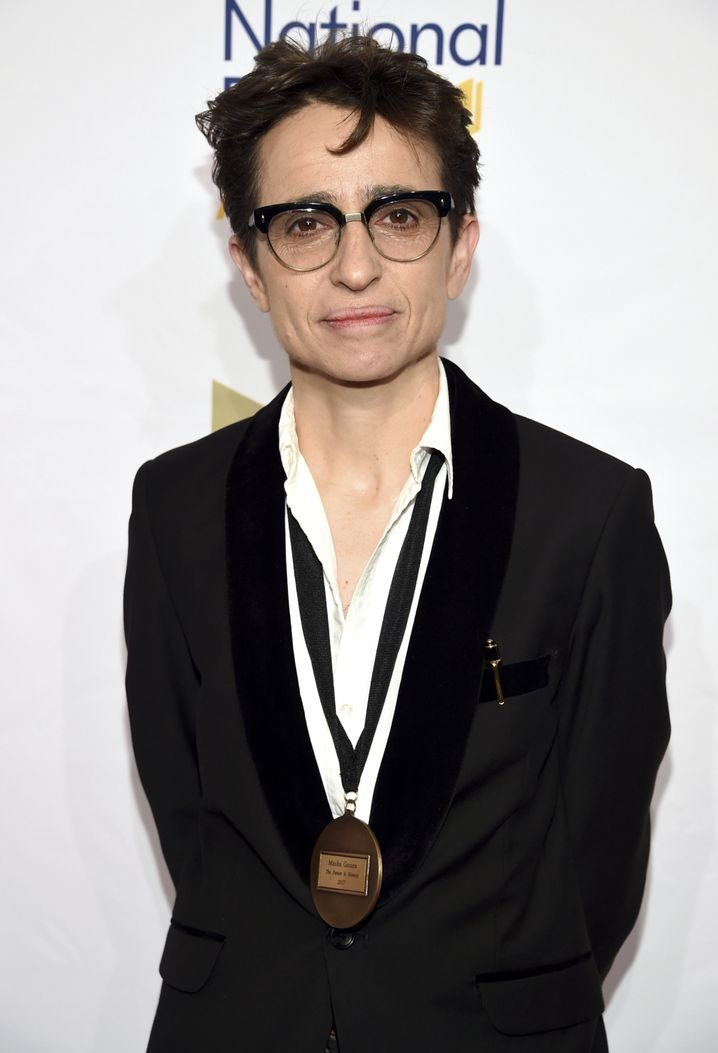 Masha Gessen bei den National Book Awards 2017