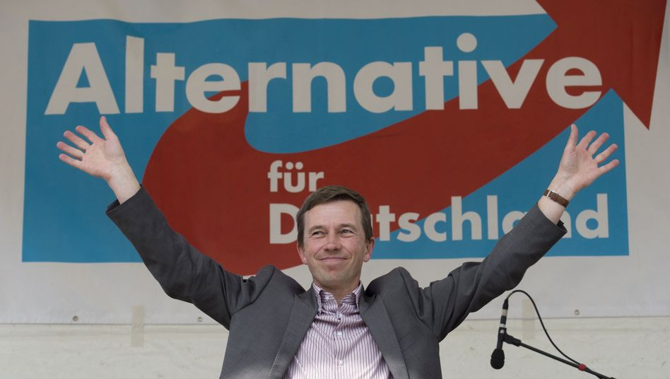 Alternative for Germany founder Bernd Lucke: Is the party opening itself up to anyone who isn't a straight white man?