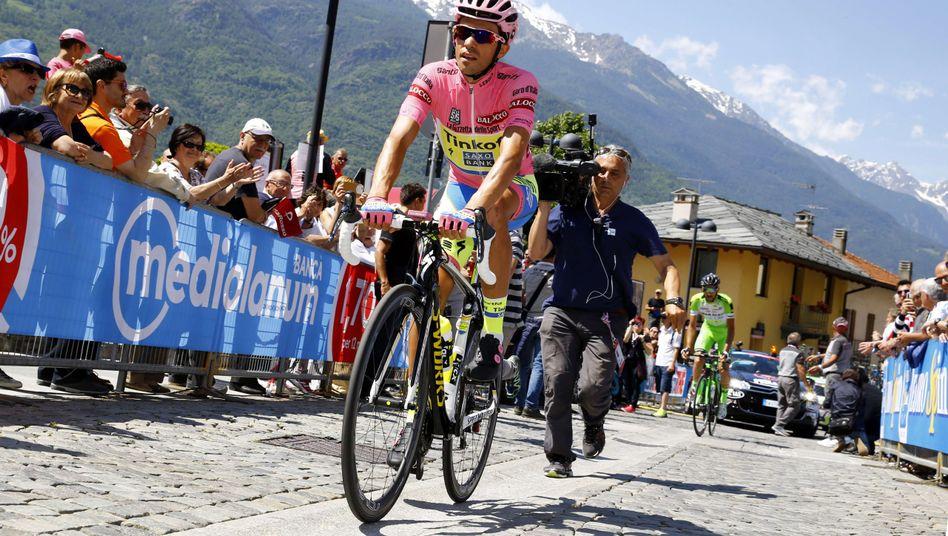 Radprofi Contador: Auf dem Weg zum Giro-Gesamtsieg