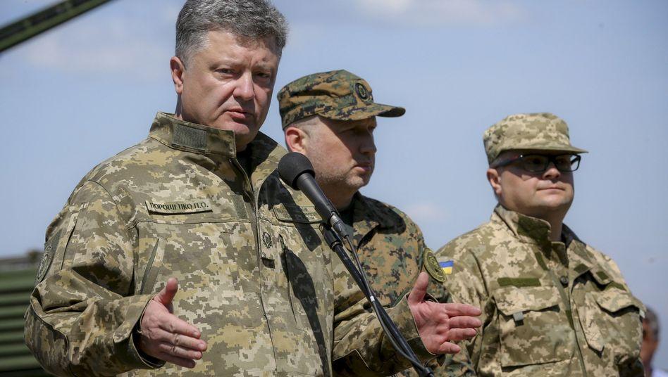 """Ukrainischer Präsident Poroschenko: """"Wir sollten bereit sein"""""""