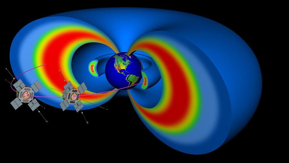 Van-Allen-Gürtel: Die Strahlungsringe der Erde