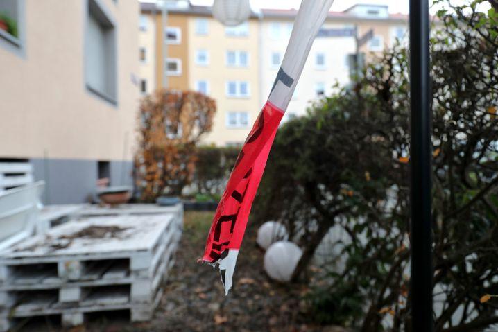 Tatort im Nürnberger Stadtteil St. Johannis