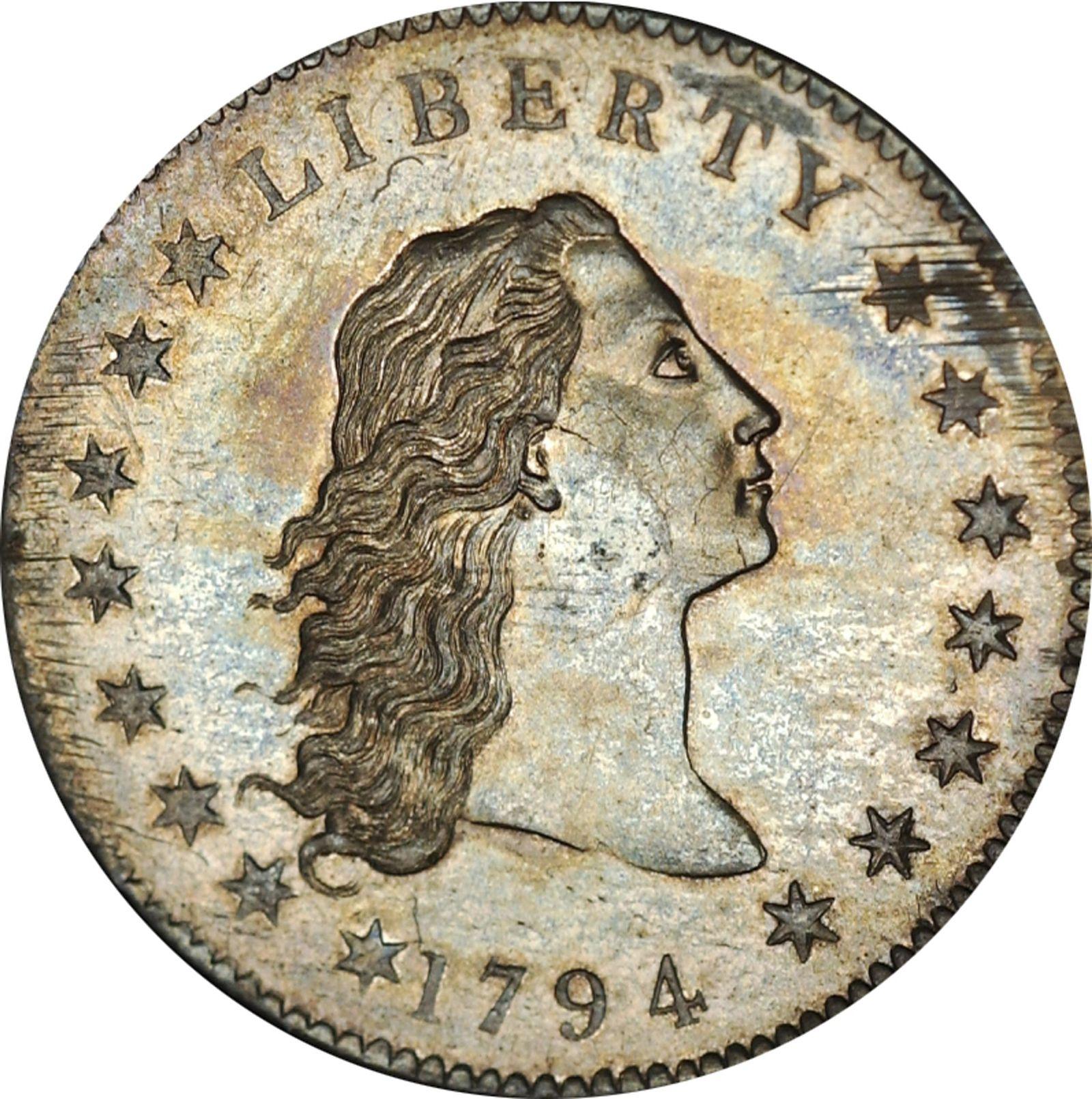 EINMALIGE VERWENDUNG Auktion/ Münze/ Silberdollar