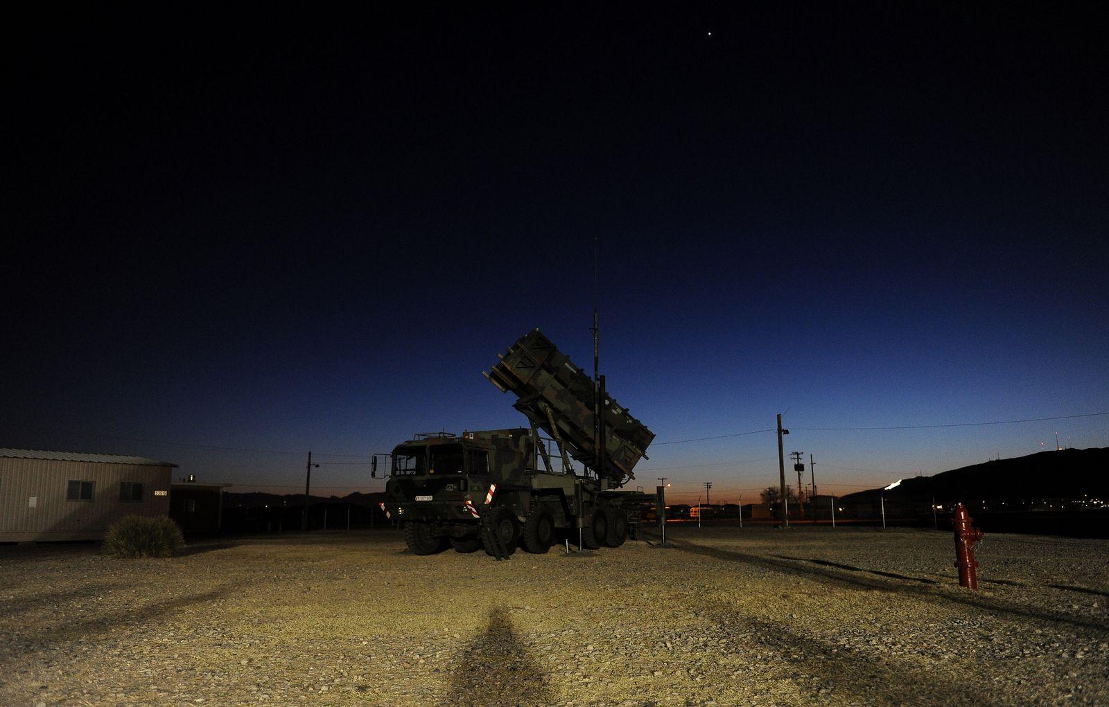 NICHT VERWENDEN Patriot Raketen