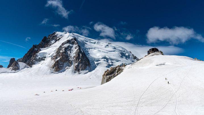 Mont Blanc: Unwetterwarnung am Gipfeltag