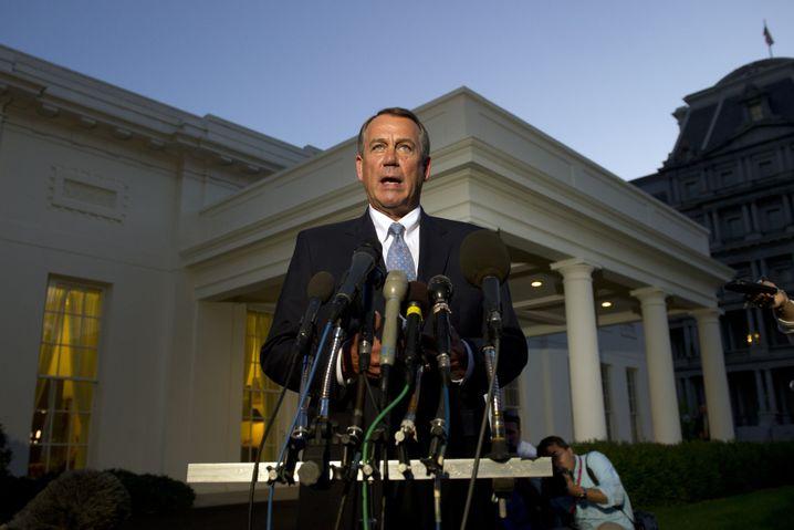 Top-Republikaner Boehner (nach Treffen mit Obama): Keine Bewegung