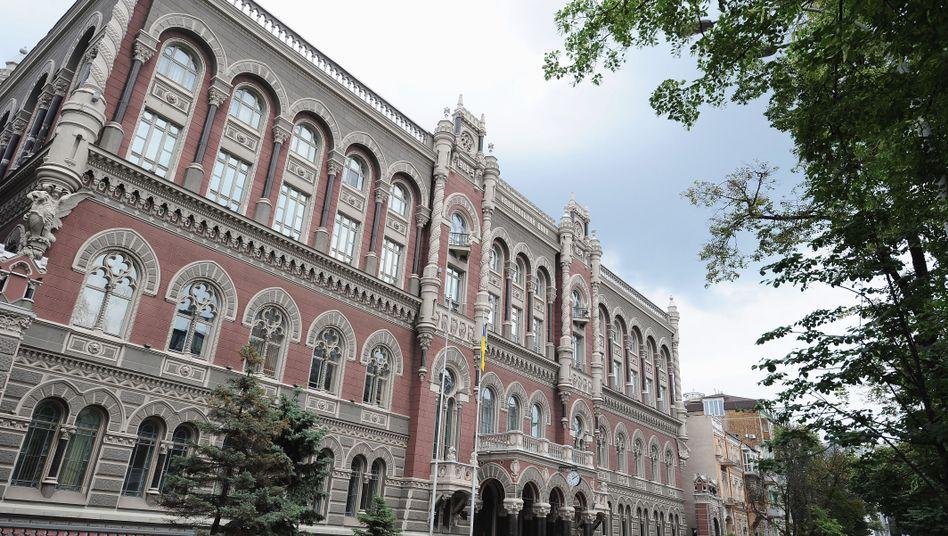 Zentralbank der Ukraine in Kiew: Eine Gefahr ist, dass die Neuen selbst Gefangene des alten Systems werden