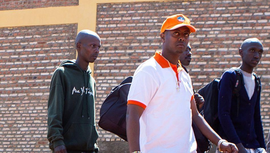 Tod nach drei Tagen in U-Haft: Kizito Mihigo, hier bei seiner Freilassung aus dem Gefängnis im Jahr 2018