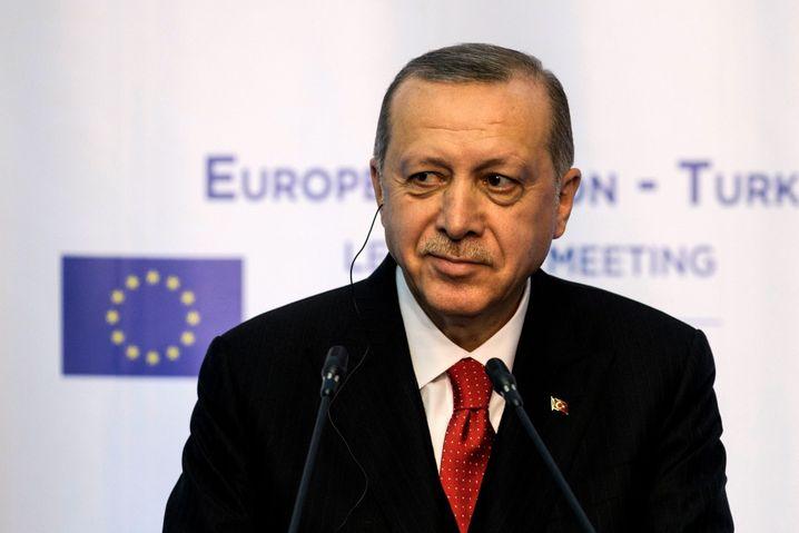 Präsident Erdoğan