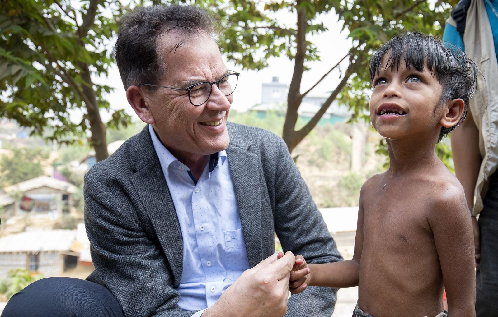 Bundesentwicklungsminister Müller besucht Bangladesch