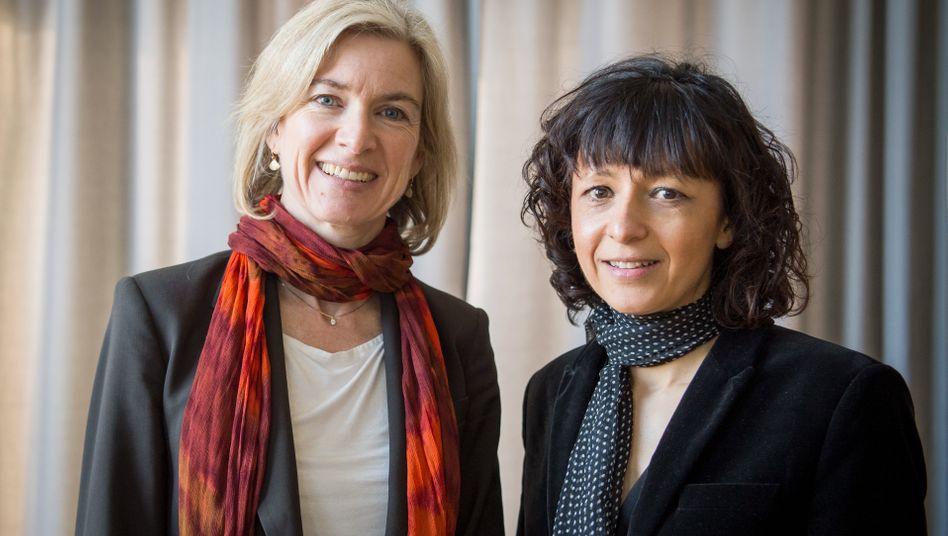 Chemie-Nobelpreisträgerinnen Doudna und Charpentier: Revolutionären Einfluss auf die Biowissenschaften