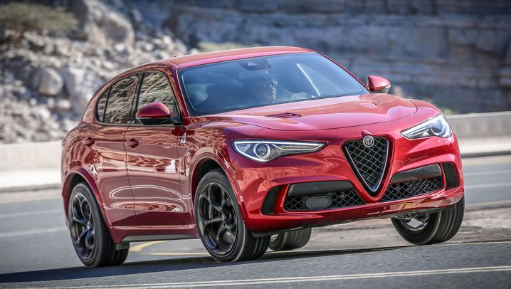 Autogramm Alfa Romeo Stelvio Quadrifoglio: SUV extrem