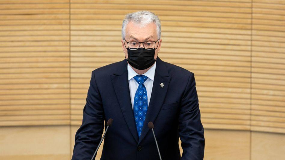 Litauens Präsident Nauseda: Vorwürfe gegen Belarus