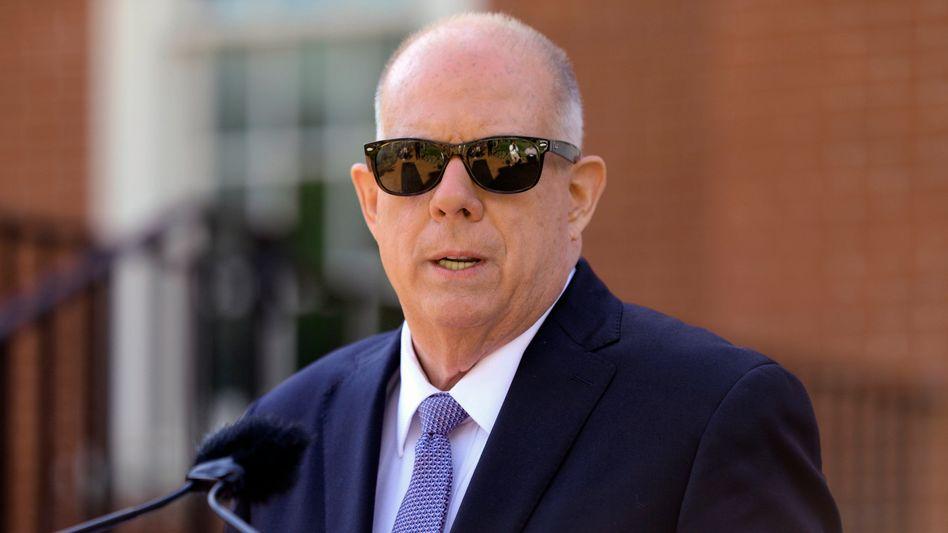 Gouverneur Larry Hogan: Die Hymne sei »eindeutig veraltet und von gestern«
